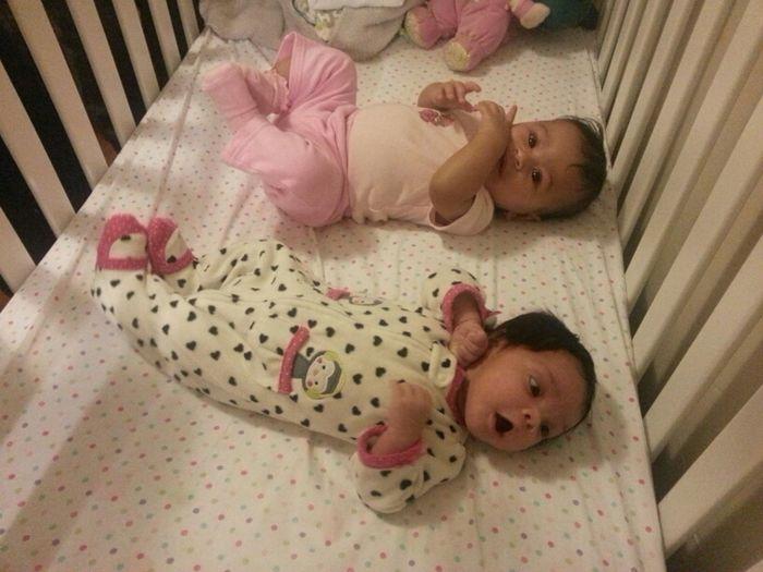 My 2 Babys Carly Y Leah. ♡