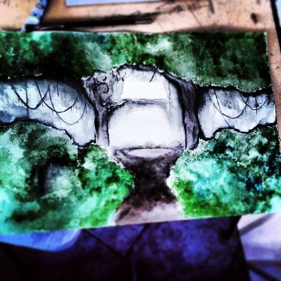 Done! :/Nawden  Bestdm Lookberry Art paintinginstagrams_artistsartcollective.... :)