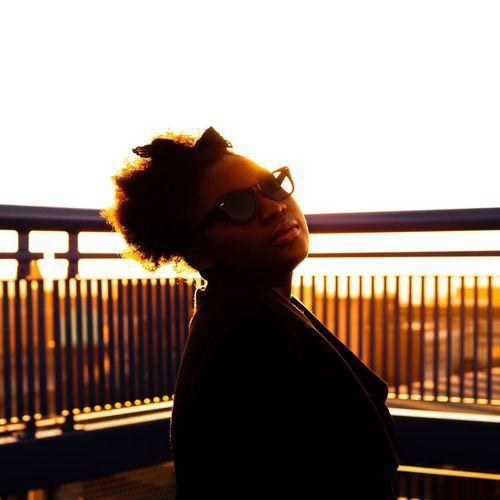 Adapted To The City Back Lit Silhouette Sunset Lifestyles One Person Sunlight Golden Warm EyeEmBestPics EyeEm Best Shots TheWeekOnEyeEM EyeEm Beautiful Beauty Black Natural Glowing Urban Streetphotography Portrait Portrait Of A Woman Uniqueness Women Around The World Welcome To Black The Portraitist - 2017 EyeEm Awards