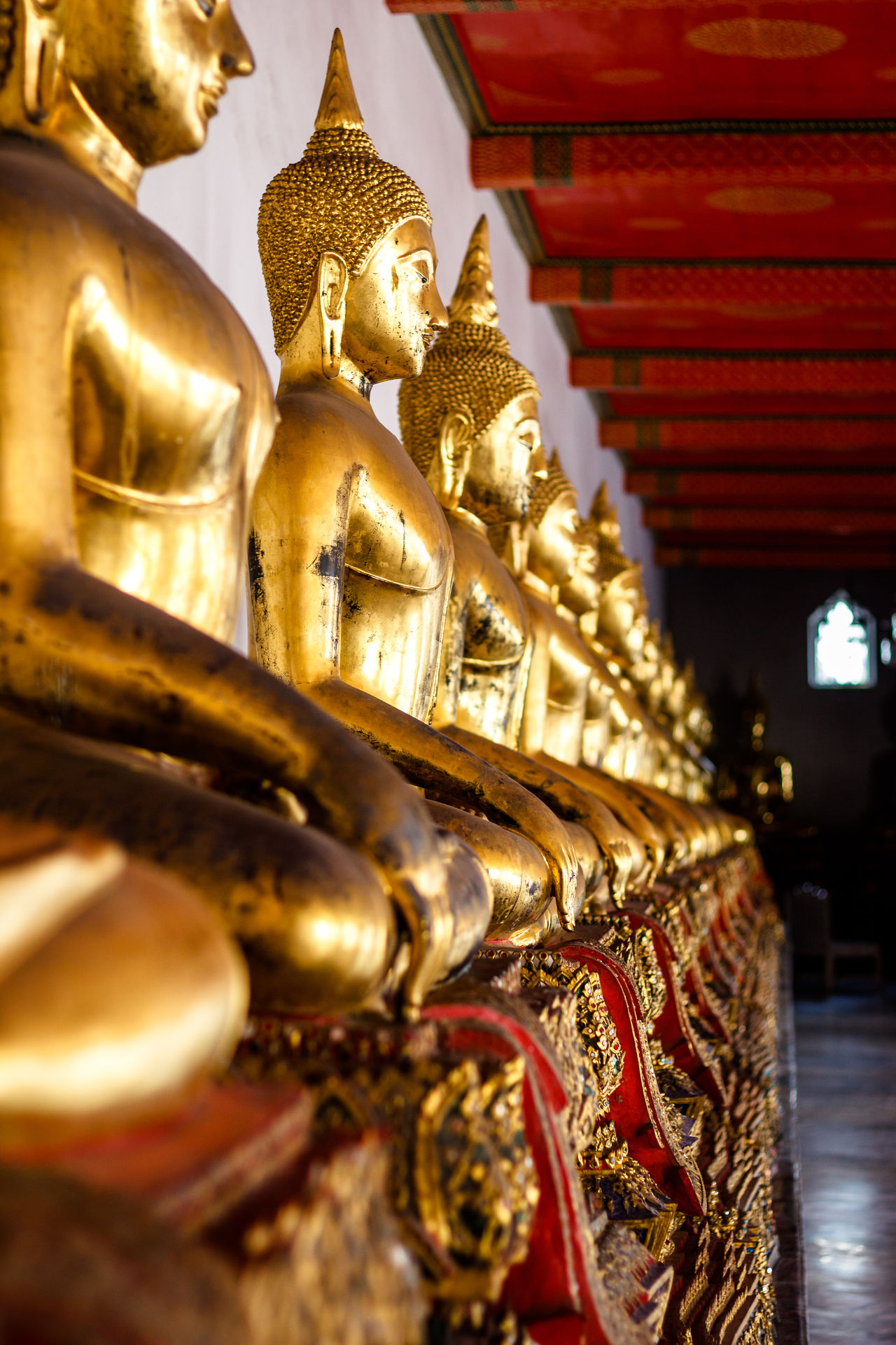 Architecture Bangkok Buddha Cultures Day EyeEm Best Shots EyeEm Thailand Gold Gold Colored No People Place Of Worship Religion Spirituality Statue Temple - Building Thailand Travel Destinations Wat Pho