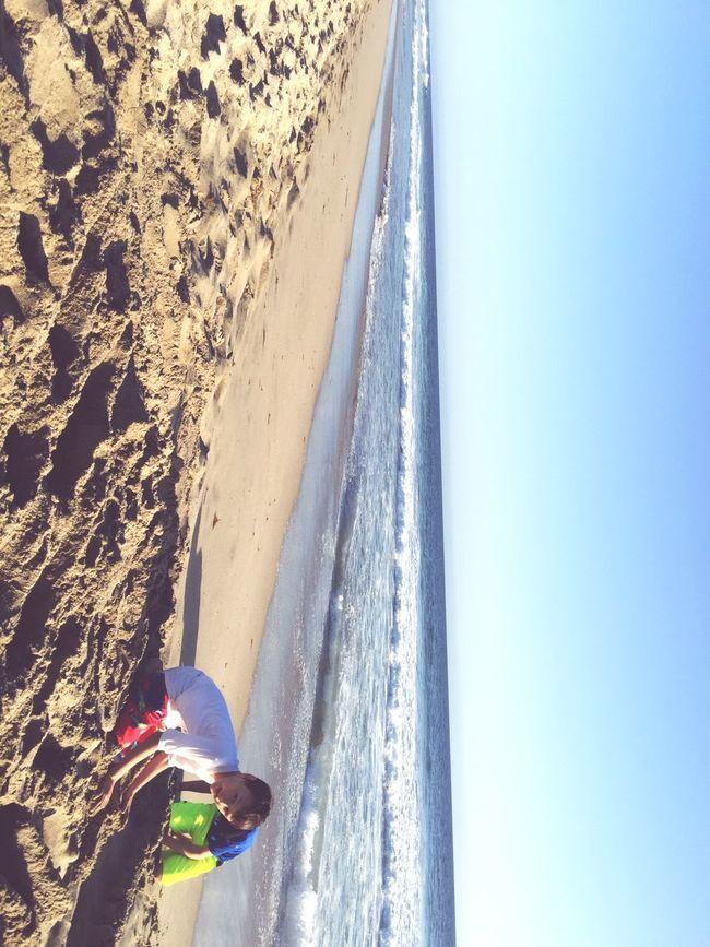 Pacific Ocean Malibu Sunny Beach California Waves Warm
