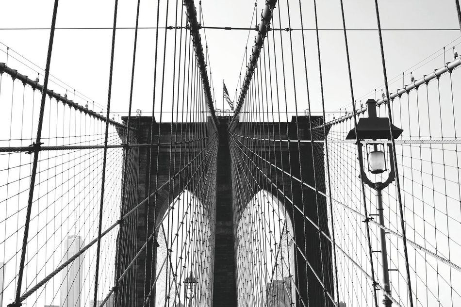 Beautiful stock photos of urban photography, Arch, Architecture, Bridge - Man Made Structure, Brooklyn Bridge