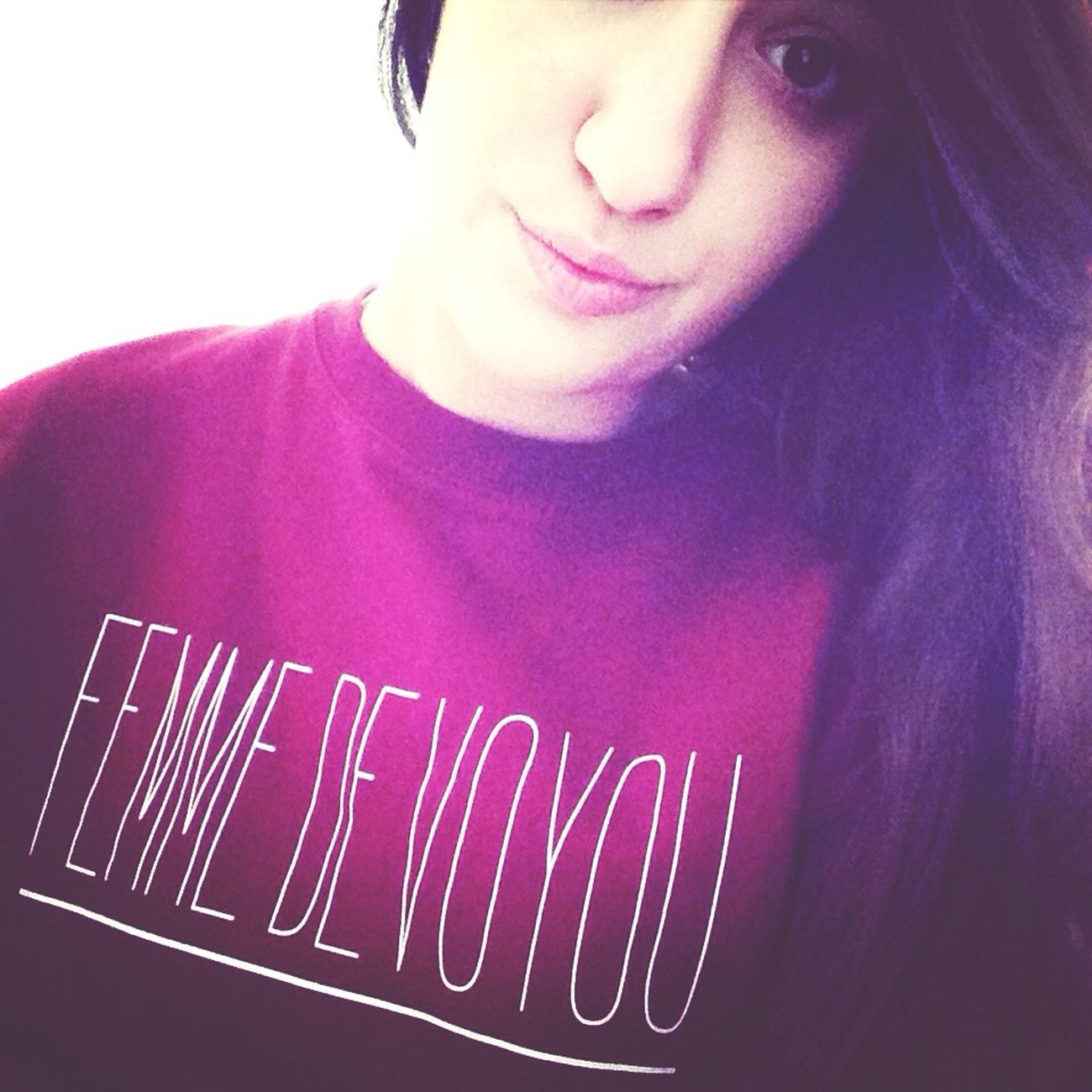 Femmedevoyou That's Me Fauve Hello World