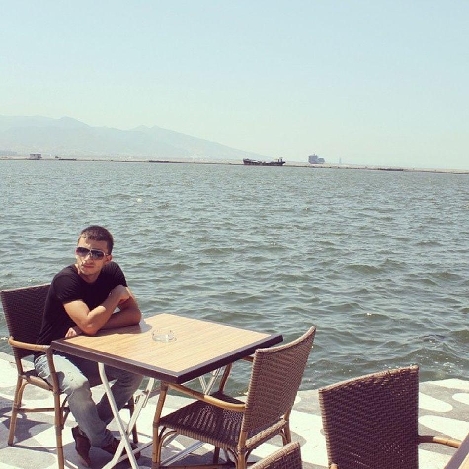 Izmir Turkey Kushadasi Sahil beach