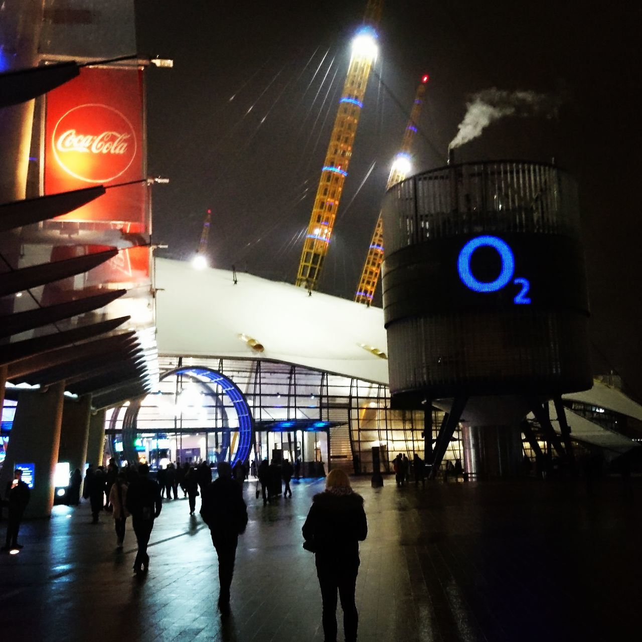 Large Group Of People Outdoors People Crowd Built Structure Architecture Illuminated Night O2 Arena Gig Venue BiffyClyro London Greenwich Band Nightlife Nightphotography