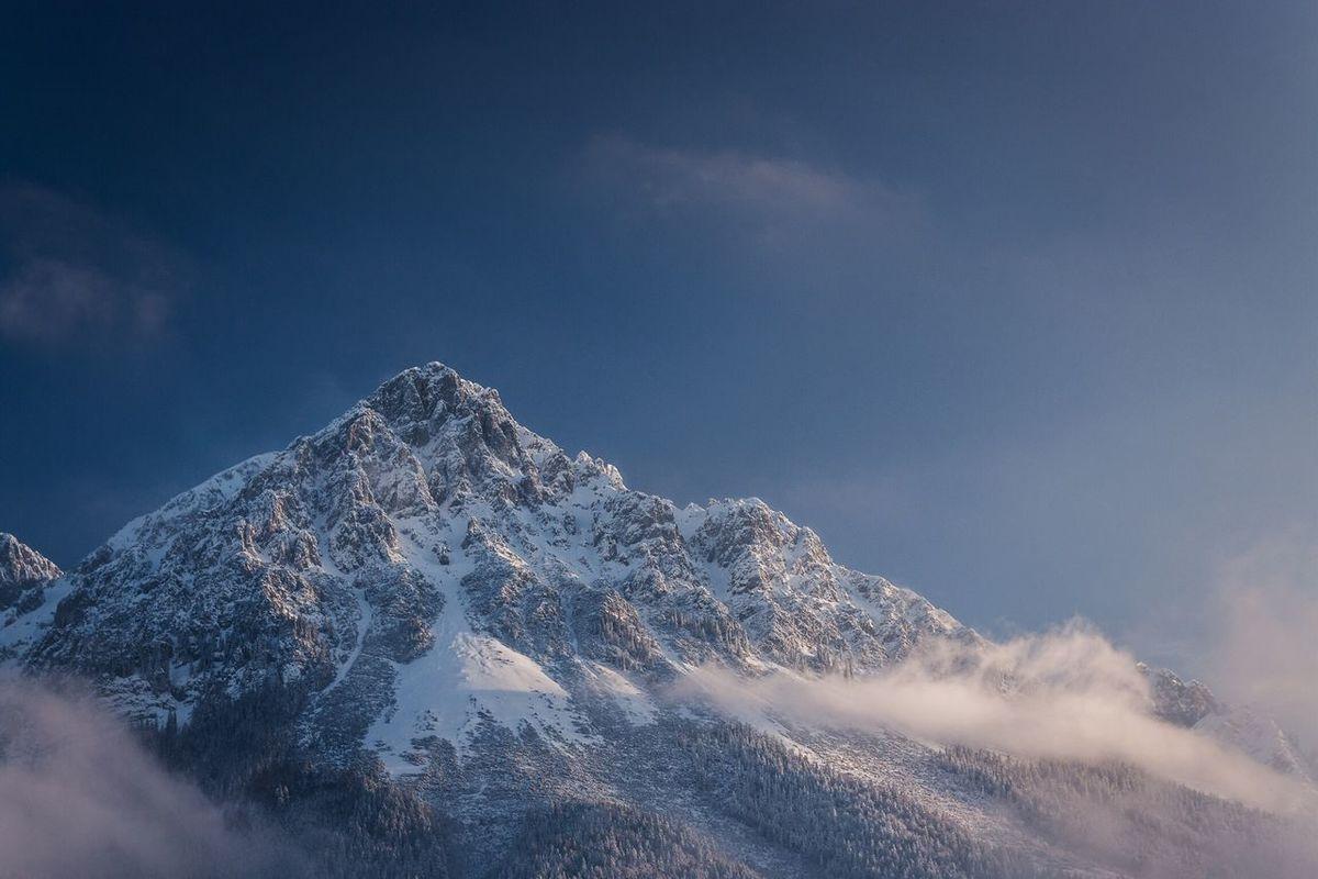 Mountain View Landscape Snow Winter Austria Scheffau Wilder Kaiser Nature Fresh On Eyeem