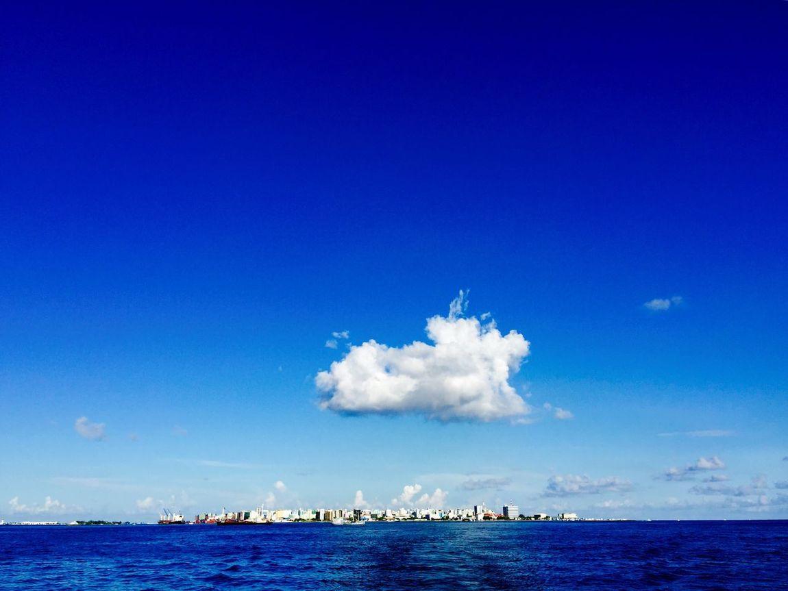 the capital city of Maldives Male'city