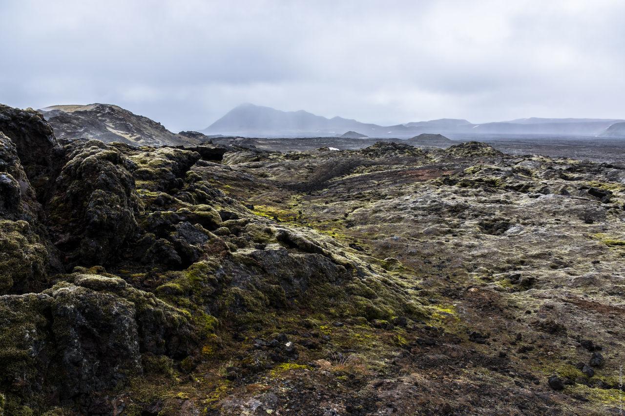 Zone volcanique du Krafla Islande Volcano Volcanoes