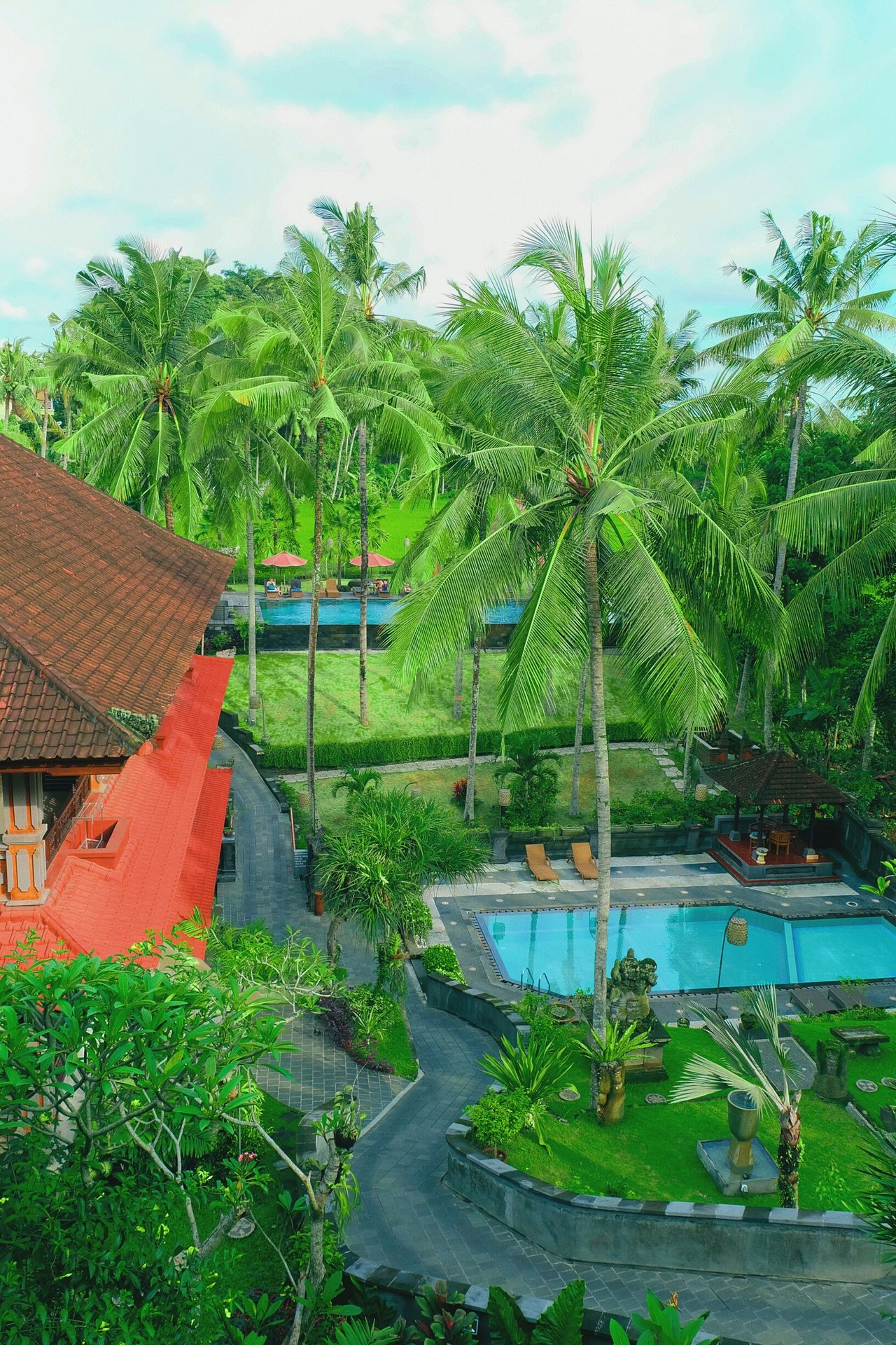 The Artini Resort, Ubud Hotel Holidays Holiday Holiday - Event Outdoors Green Color Swimming Pool Beauty In Nature Tree Day Garden Photography Hotel View Hotels And Resorts HotelsandResorts Ubud, Bali