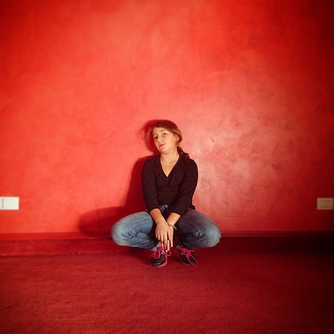 My Poser Portrait Onassignement Picoftheday Followed Red Girl