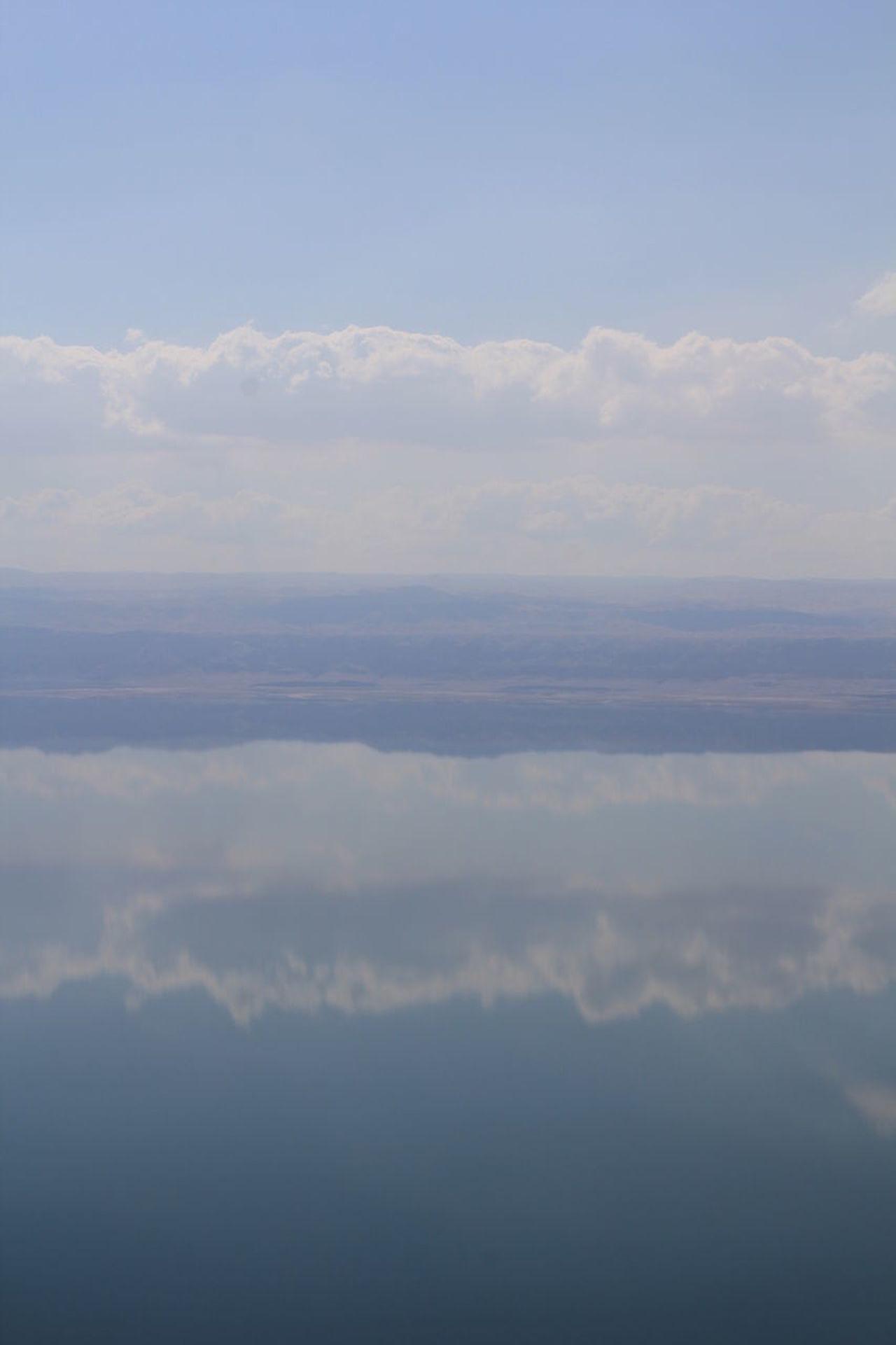 Beauty In Nature Day Dead Sea  Deadsea Nature No People Outdoors Scenics Sea Sky Tranquil Scene Tranquility Water Reflection Water Reflections