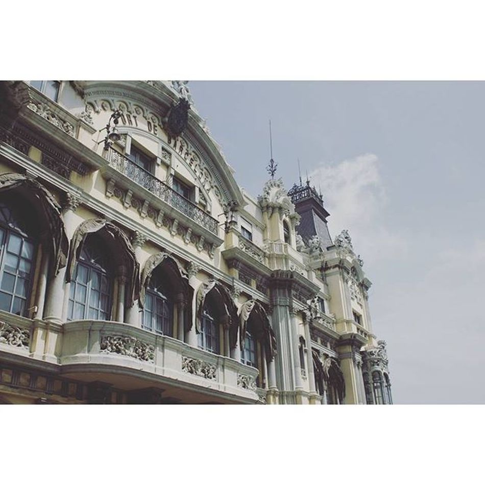 PortdeBarcelona Barcelona SPAIN España catalunya love city beautiful architecture trip paradise holiday vsco vscocam