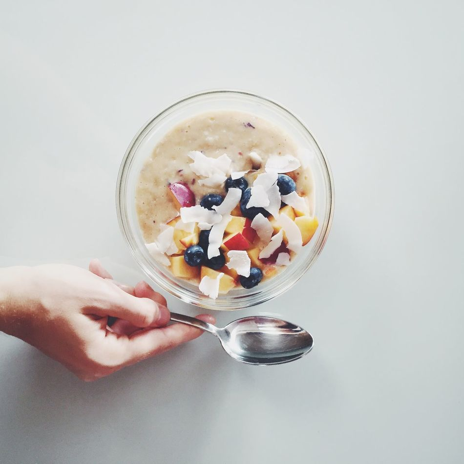 Beautiful stock photos of apple, Apple, Blackberry - Fruit, Bowl, Breakfast Cereal