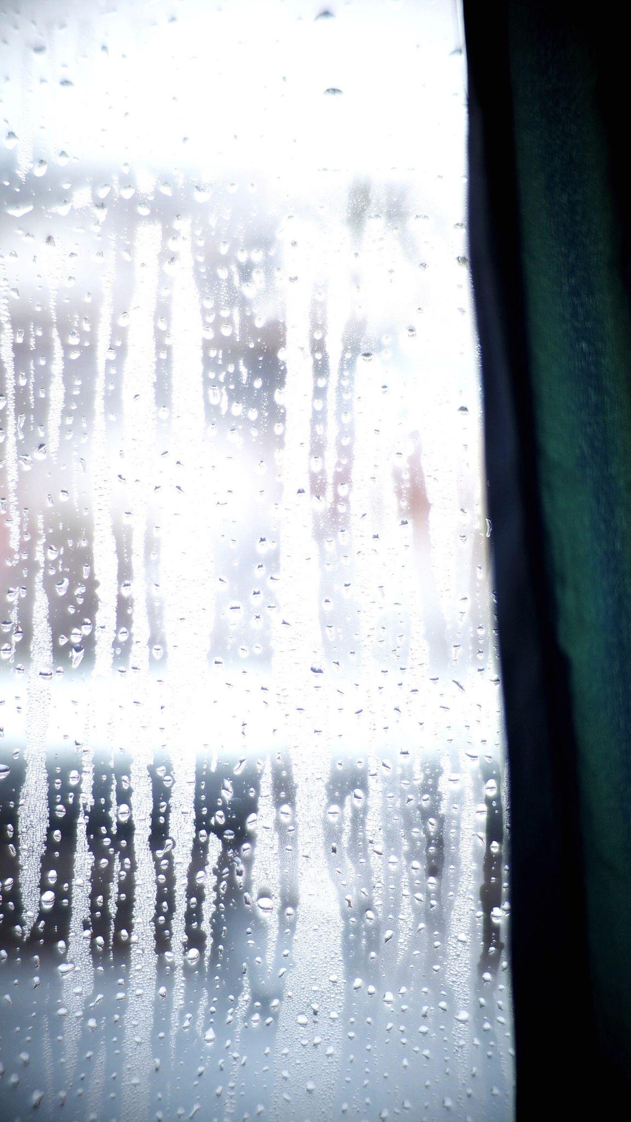 Jan 30,2016 Sat Dew Condensation Window Rainy Days