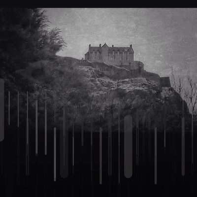 arkham b&w at Edinburgh Castle by visualbreed