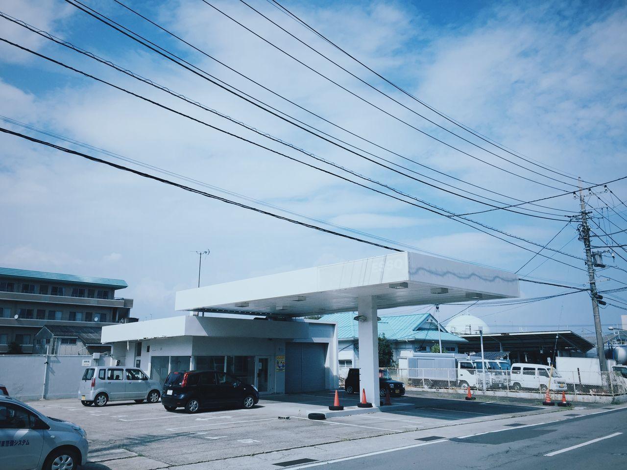 Esso Architecture Gasolinestation at Odawara Japan