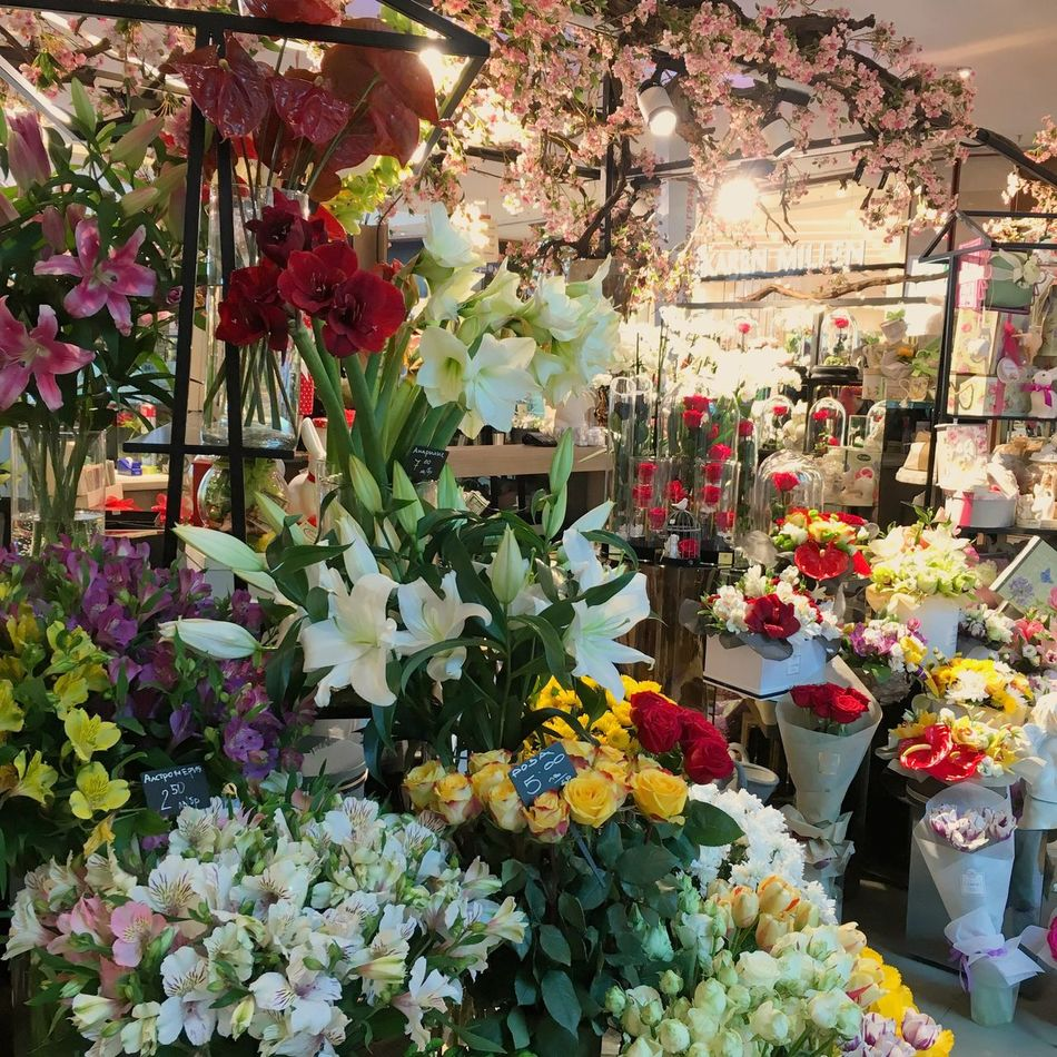 Flower Flower Shop Flower Market Bouquet Freshness