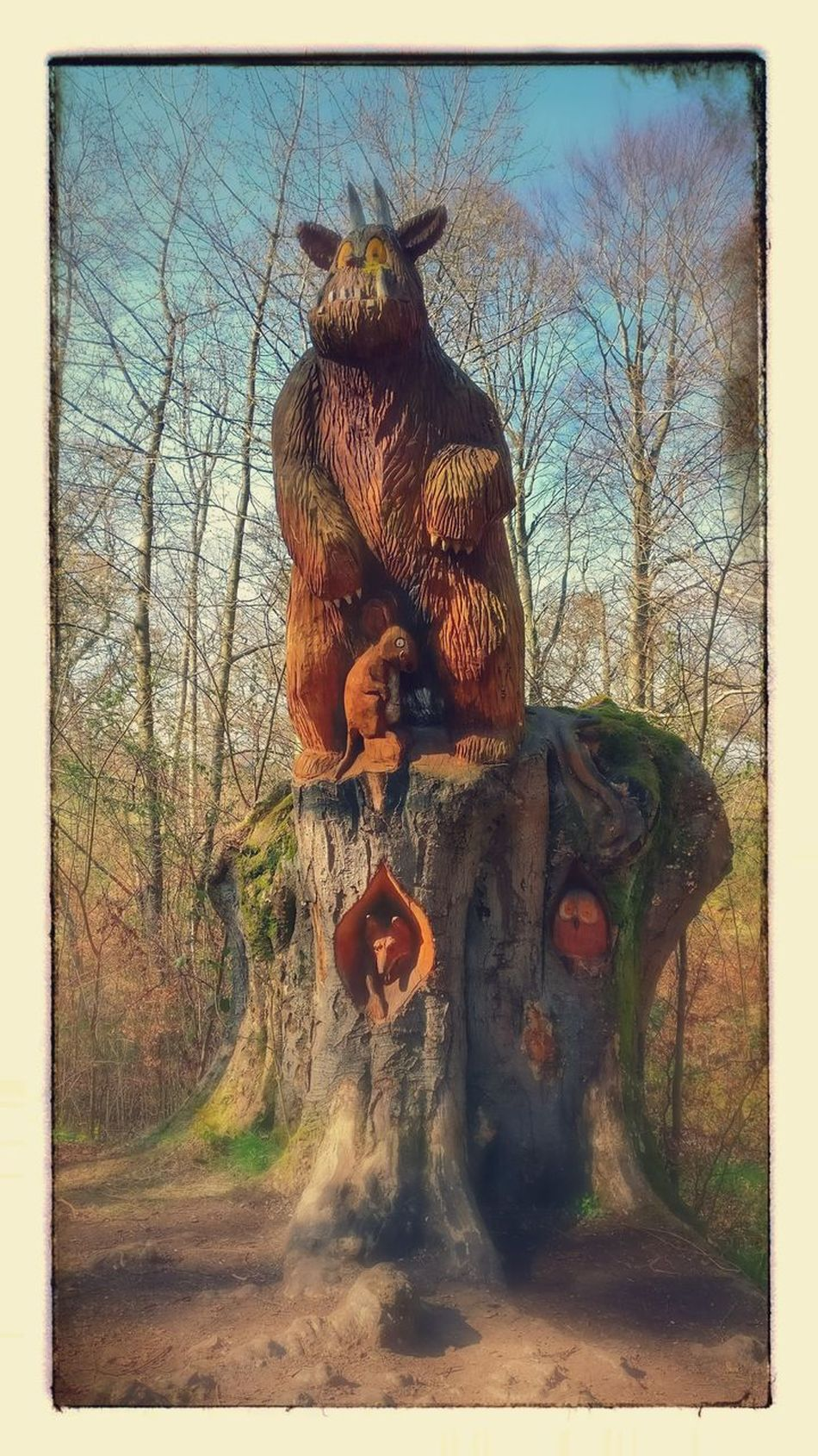 No People Statue Gruffalo Hunt Gruffalo Highlands Scottish Scotland 💕 Scotlandsbeauty Full Frame Mammal Animals In The Wild Wood Carving Art Culloden Scottish Highlands Scotland Outdoors Statue