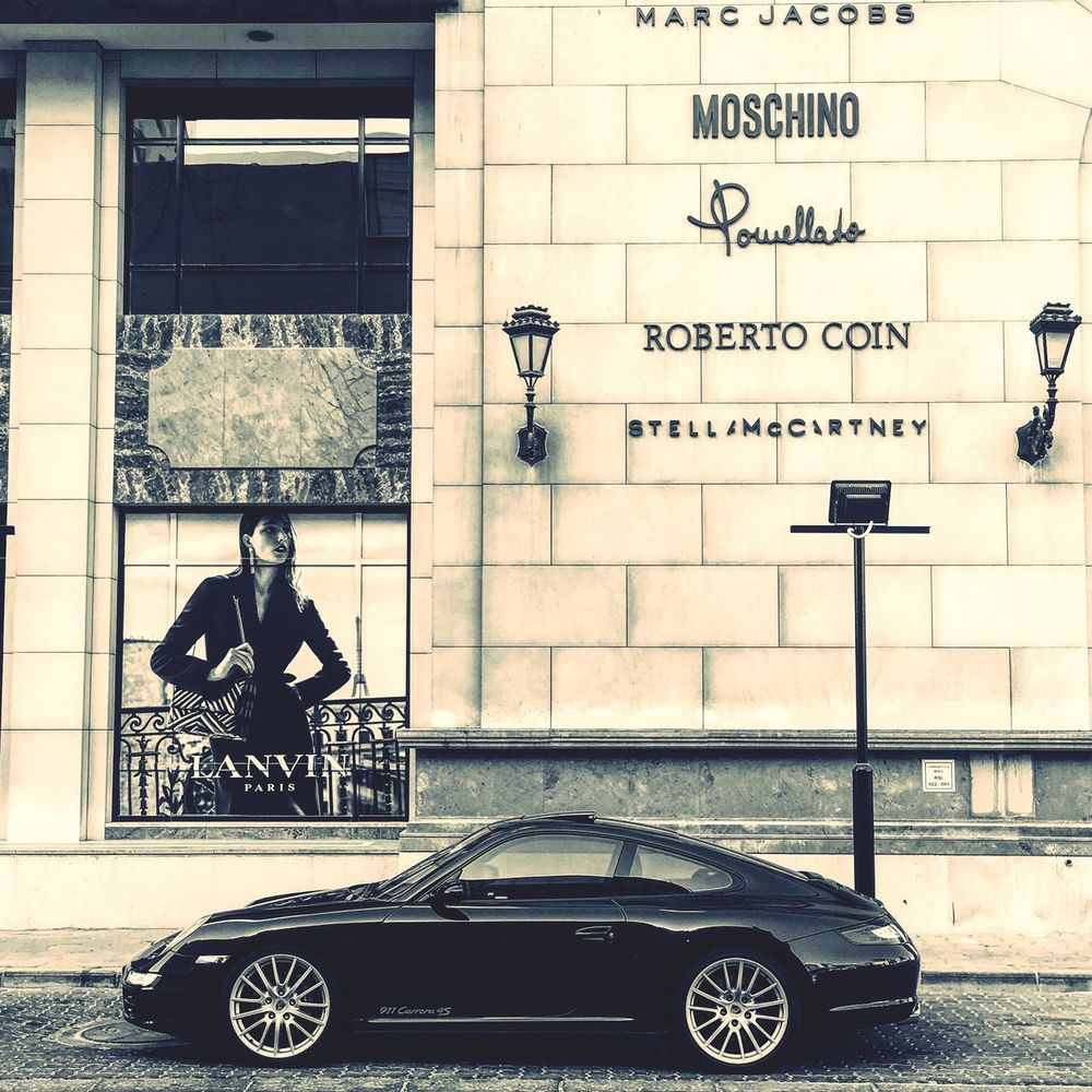 Architecture Western Script Transportation Building Exterior Porsche 911 Architecture 911carrera Porsche Fashion Style Carrera4s IPhoneography Roadside