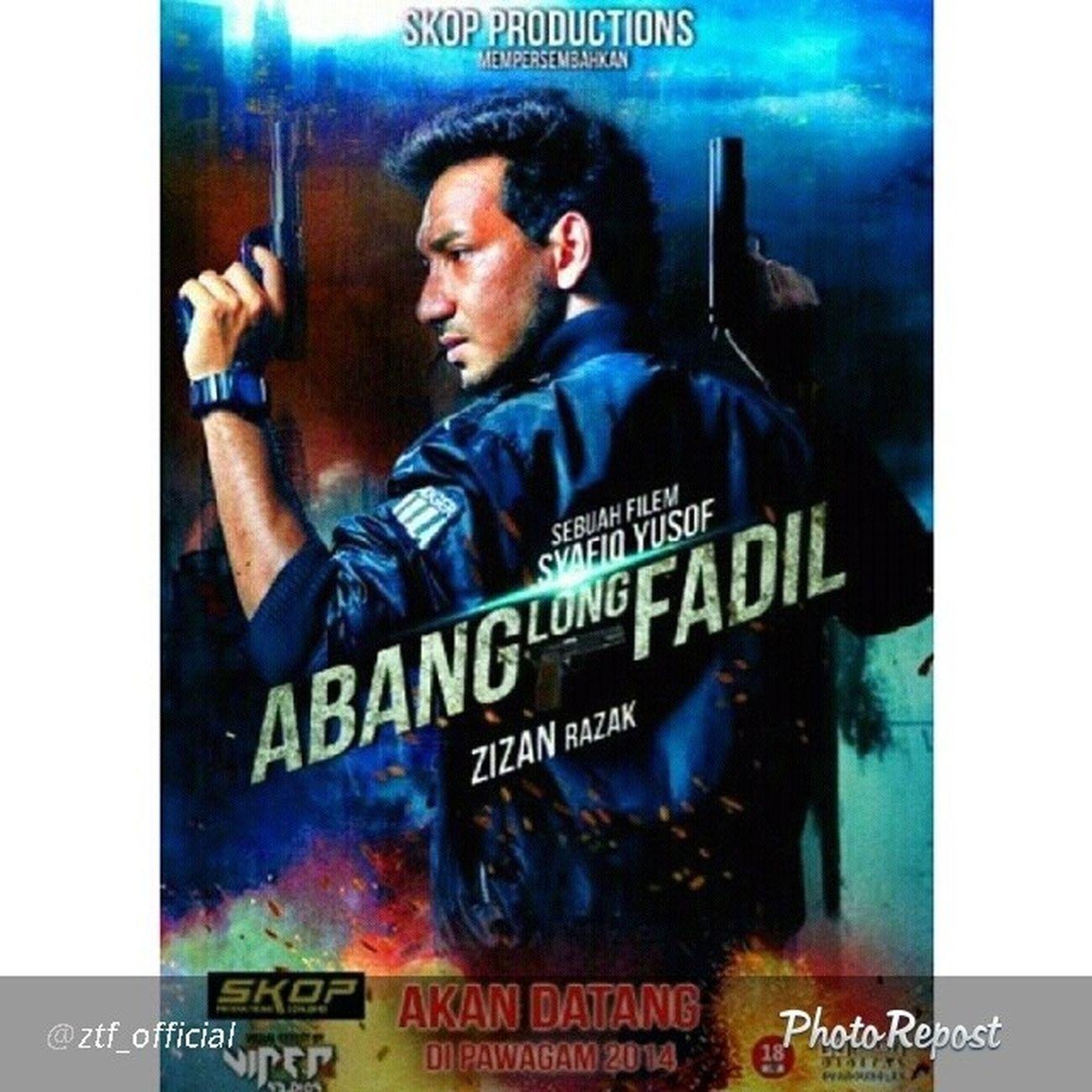 "By @ztf_official ""Coming soon. . AbangLongFadhil SkopProductions starring @zizanrazak869"" via @PhotoRepost_app"