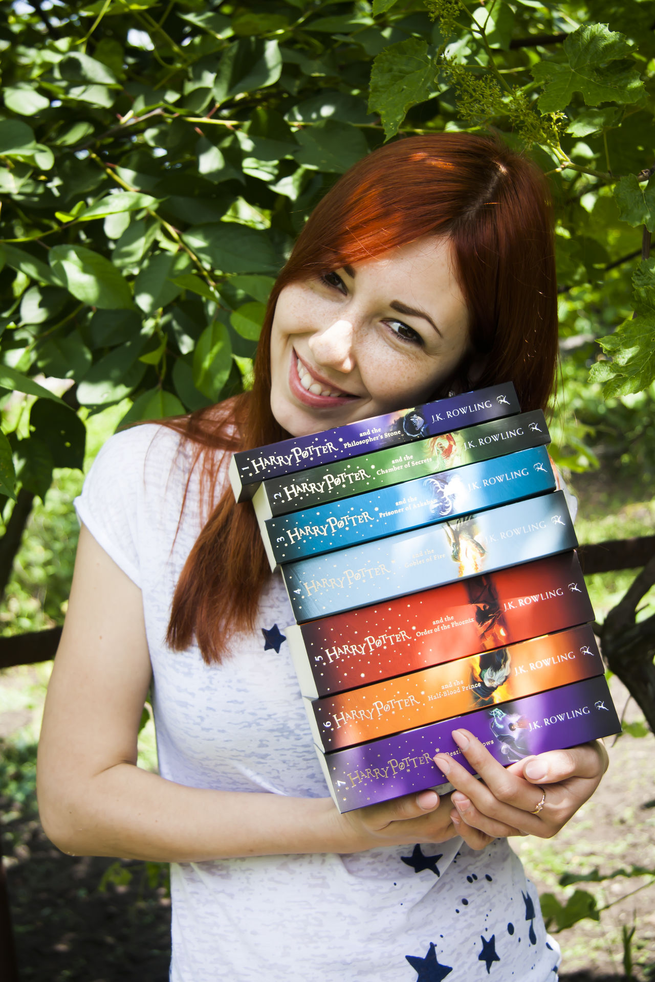 Welcome to my magic world! Bestoftheday Harrypotter Potterbook Books Stackofbooks Collection Lovereading Booklover Bookworm Bookstagram Me Englishteacher