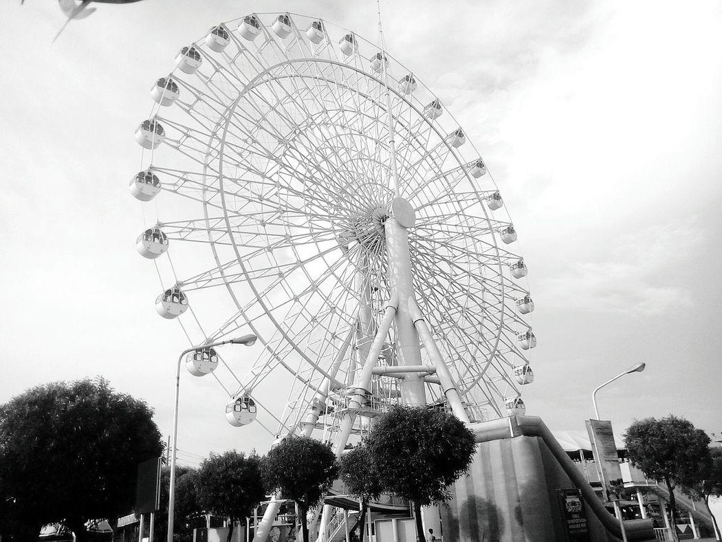 Ferrys Wheel Blackandwhite Photography the big eye in pampanga Eyeem Philippines