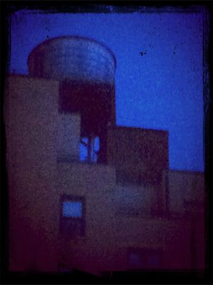 NYC Water Towers by Amy