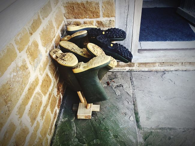 Boot store Wellington Boots Storage Farmyard Dirty Boots Outdoors Outdoor Life Outside The Door