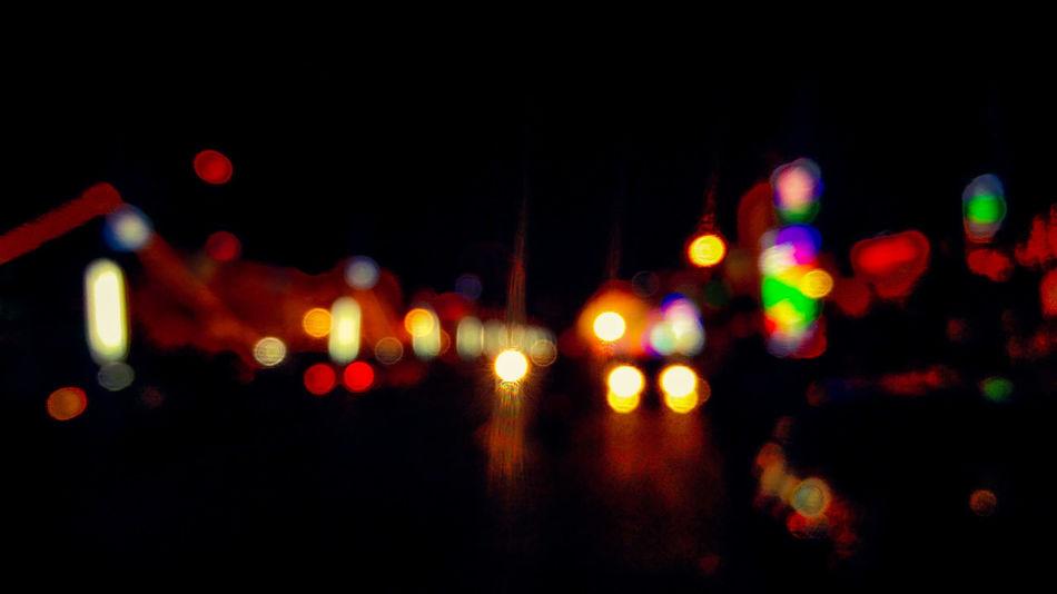 Night Defocused City Traffic Road Vehicle Light Outdoors Nightlife Travelling Blur Effect Nights  Illuminated EyeEm Best Shots PhonePhotography Oneplus2