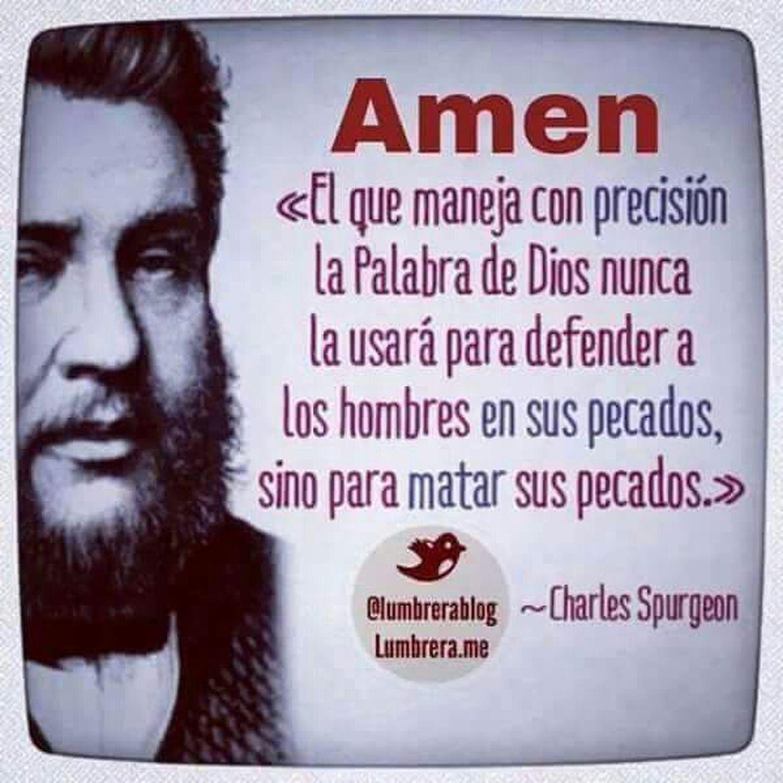 Frases CharlesSpurgeon  Biblia Iglesia Dios