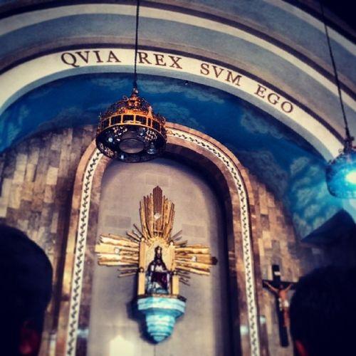 QVIA REX SVM EGO means I AM A KING Catholic ChristTheKing Parish Church religion amen