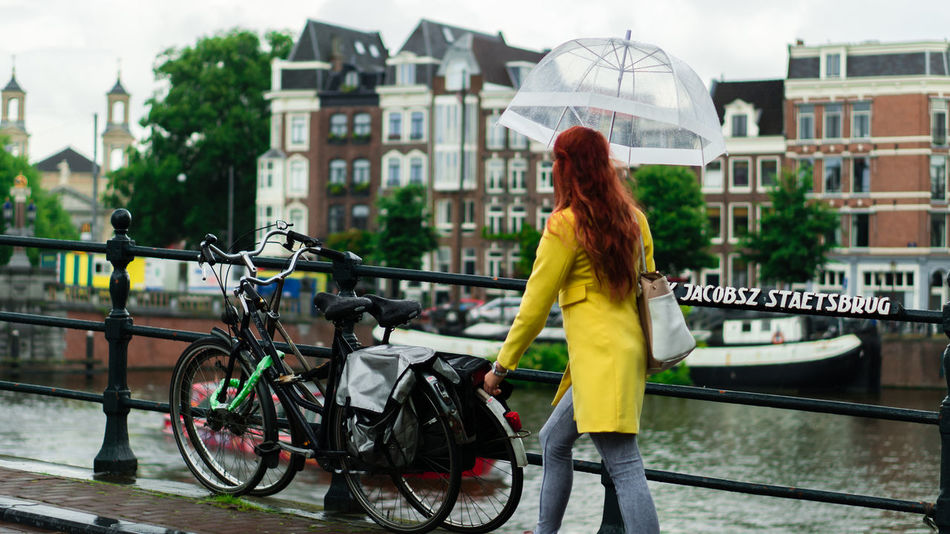 Beautiful stock photos of regen, Amsterdam, Architecture, Bridge - Man Made Structure, Building
