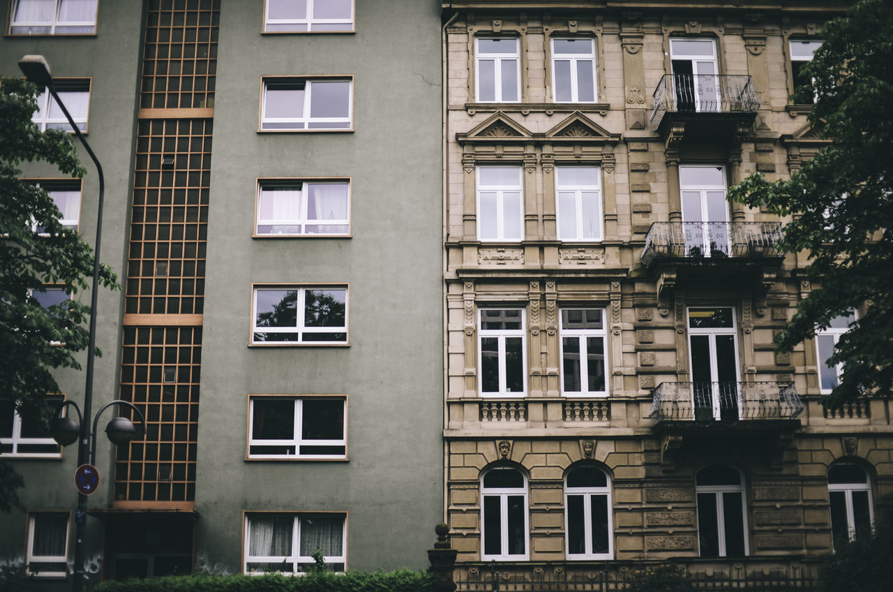 Neighborhood Apartment Architecture Building Exterior Buildings Built Structure City Contrary Contrast Day Germany Ghetto Immobilien Neighborhood No People Old Buildings Outdoors Pattern Poor  Real Estate Rich Rich VS Poor Tree Window Windows