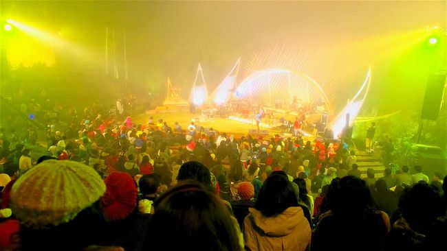 ...jazz gunung For The Love Of Music Concert Photography Indonesia_allshots Jazz Concert Mountain Amphitheater Bromo Mountain Yellow Green Relaxing