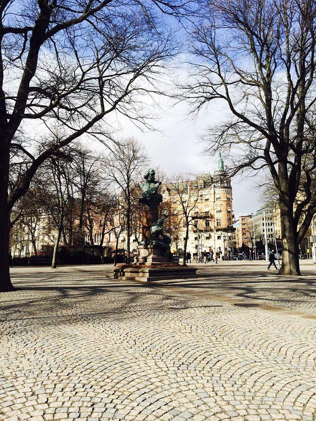 Landscape Landscape_Collection EyeEm Best Shots - Landscape Eyeemphotography EyeEm City Buildings And Sky Buildings,style,arquitecture,sky EyeEmBestPics EyeEm Gallery Town Stockholm, Sweden Statue