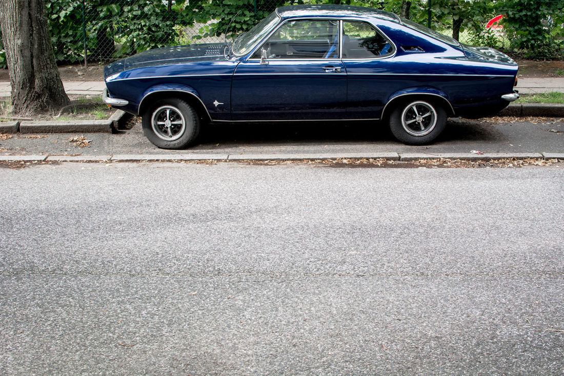 Opel Manta A Asundaycarpic Auto Automobile Blue Car Car 70824] Coupè Kultkarre Kulturgut Legendary Manta Mode Of Transport No People Oldtimer Opel Opel Manta Parking Road Ruhrpott Straße Straßenfotografie Street Taking Photos Vauxhall