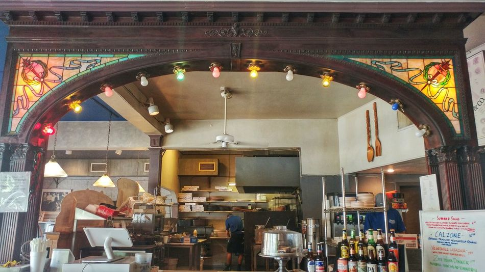 Arch Bulb Colors Food And Drink Illuminated Interior Light Multi Colored Ohio Restaurant Hidden Gems