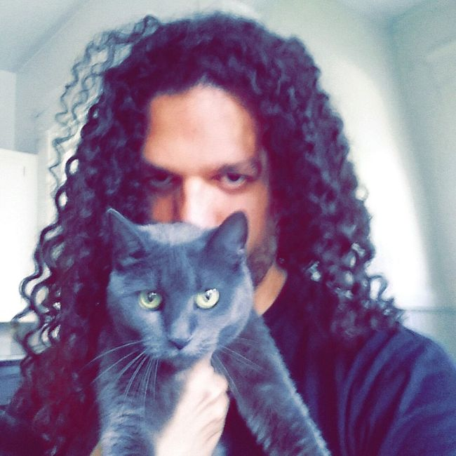 Me Chillin With My Cat