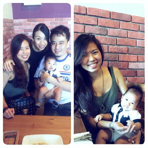 Finally got to meet little Adam koh! :) It was super great to meet you guys back. Wish you guys in a good health. Feelinggreat Home Littleadamkoh Apperciate awesome kunch hearts lovely adorable lovely