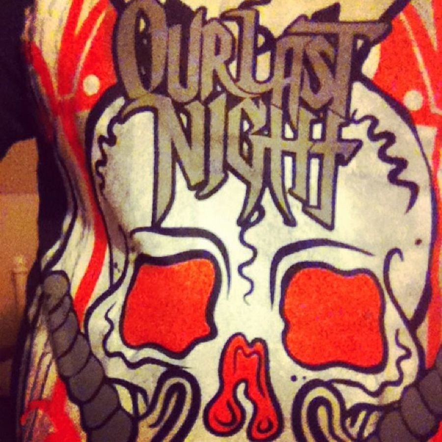 Our last night shirt from America for Christmas from my best mate!!!! ? Love it!!!!  love Oln
