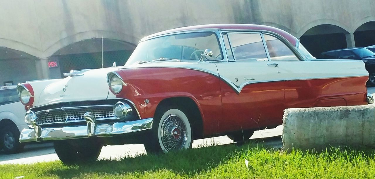 A cool Ford Fairlane Victoria. Car Old-fashioned Vintage Car Red Old Outdoors Ford Victoria Autos Popular Photos Eyemphotography Photography