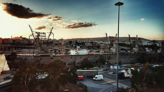 The Great Outdoors - 2016 EyeEm Awards Port View Port Life Old Ship Cargo Ship Cargo Container Vessels In Port Vessel Industrial Area Industrial Photography Industrial Landscapes Industrial Zone Customs Golden Hour Malephotographerofthemonth From My Point Of View From Where I Stand
