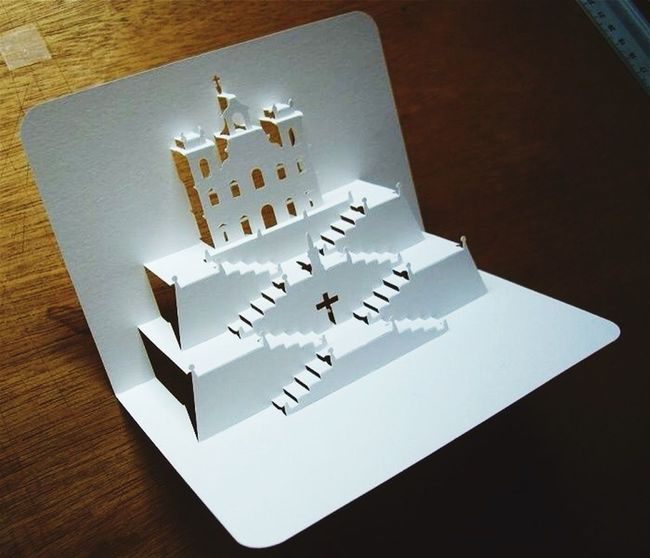 Archiitecture Mind Business Card Being Creative