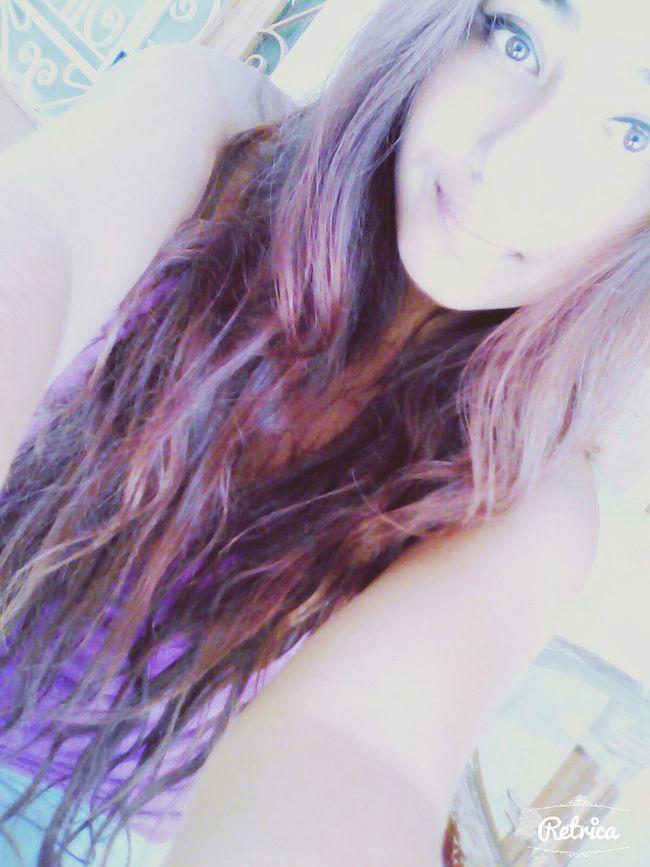 Feeling Sad But Smiling Hello :) Selfie