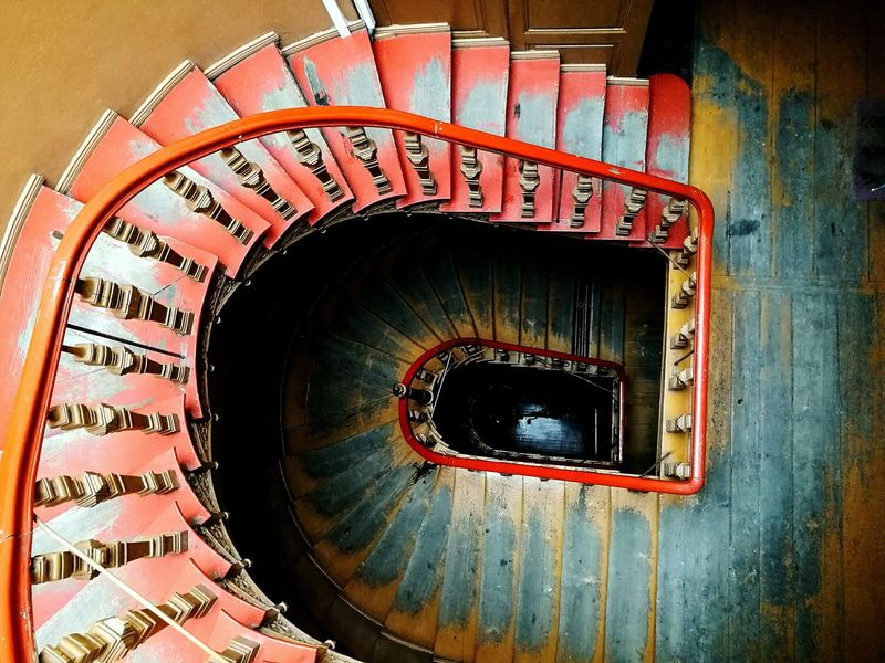 Spiral Staircase Staircase Architecture Steps Built Structure Spiral No People Steps And Staircases Stairs Stairway To Heaven Stair Schody Kamienica Kolorowo