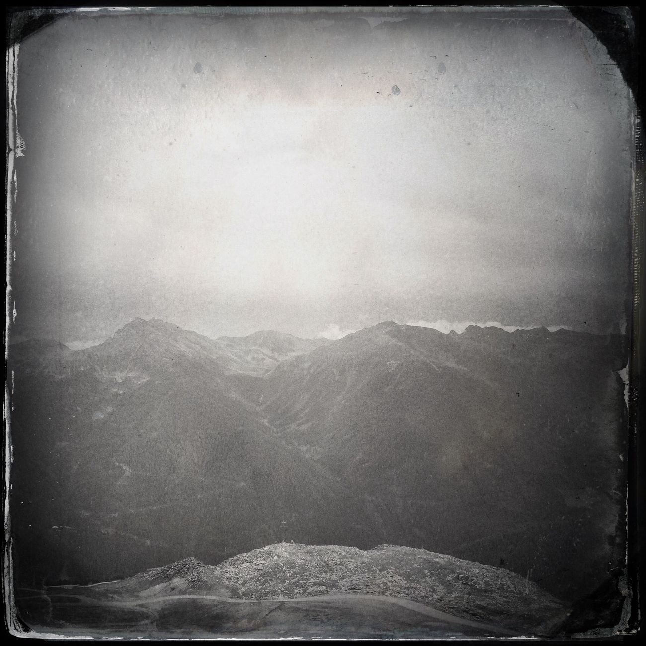 Mountains Hipstamatic Blackandwhite The_guido