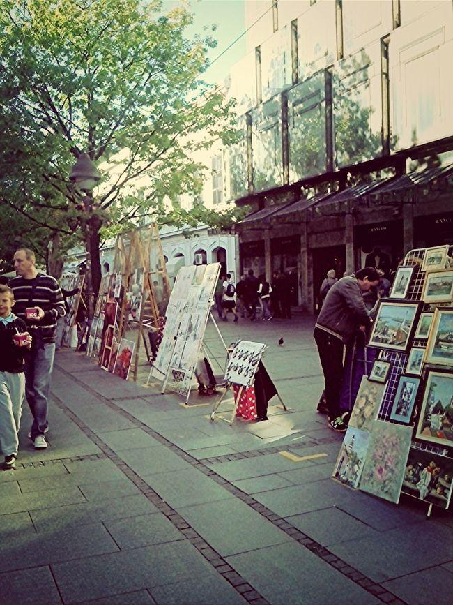 Belgrade Street Taking Photos Urban Escape