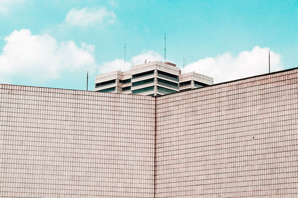 The Secret Spaces Architecture Business Finance And Industry Built Structure Sky Building Exterior Cloud - Sky Outdoors Day No People Architecture Landscapes Modern Freshness City First Eyeem Photo Low Angle View