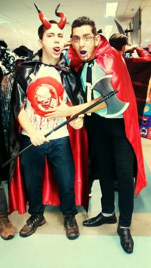 Halloween Horrors com o Super Malévola.