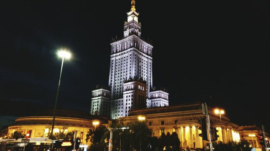 Warsaw Poland Built Structure Architecture First Eyeem Photo